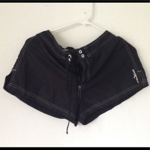 🔴 ZeroXposur Black Shorts Work Out Sz 10 GUC